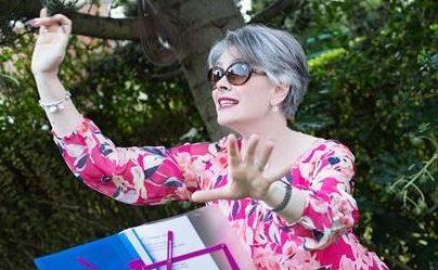 Kari Olsen-Porthouse – the liberty singer. We all feel a little bit better when we sing, right?
